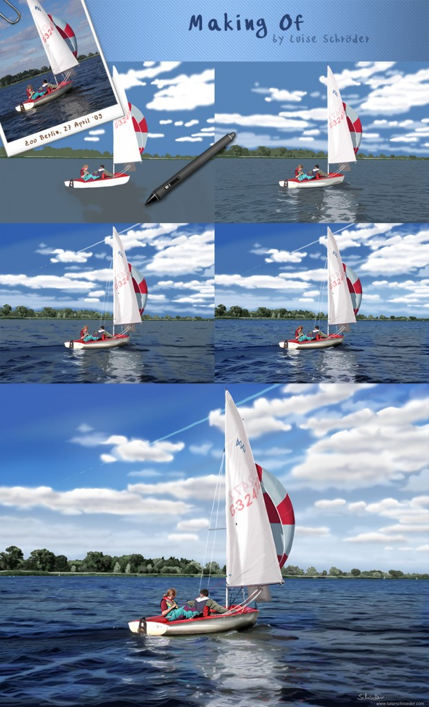 Making of the sailing trip