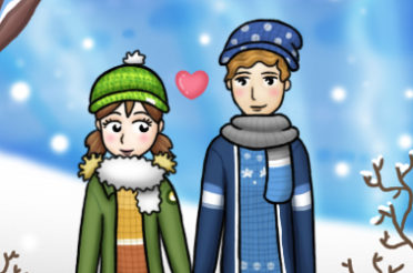 Game Lisas Winter Date