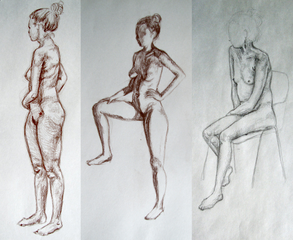 life drawing II III IV